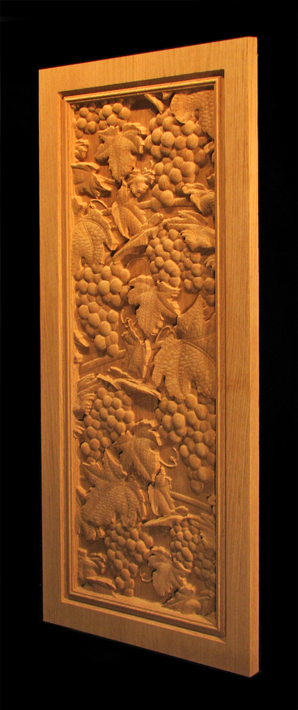 Panel - Vineyard Grapes