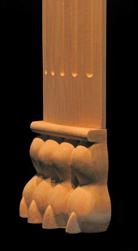 Plinth- Lion Paw