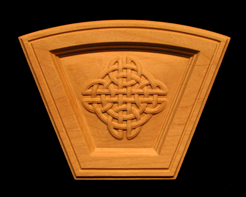 Keystone - Celtic Knot Simple - Arched