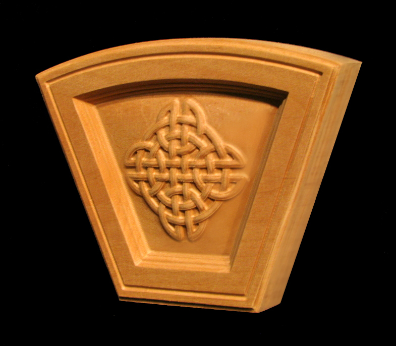 Keystone - Celtic Knot Arched Simple