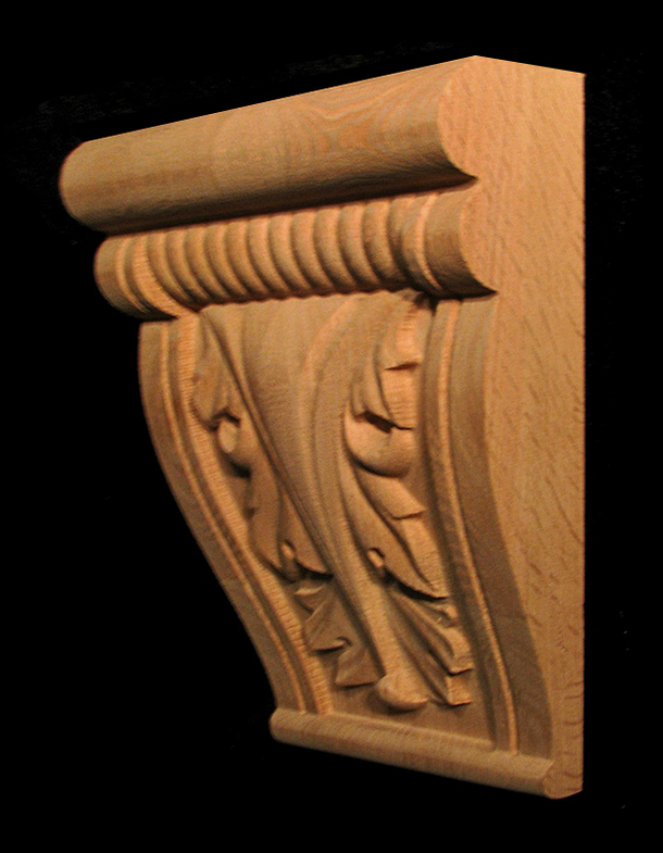 Keystone - Acanthus with Profile
