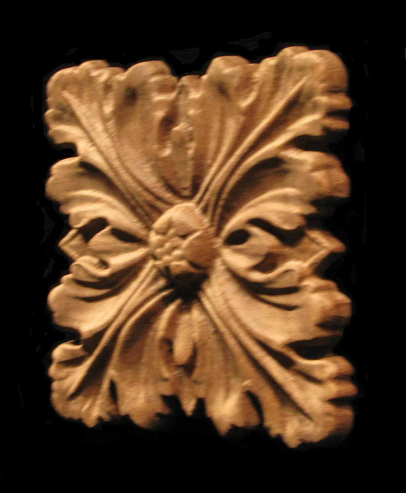 Onlay - Acanthus Four Leaves