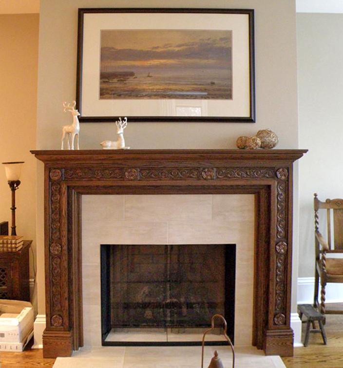 Kirby Fireplace Molding