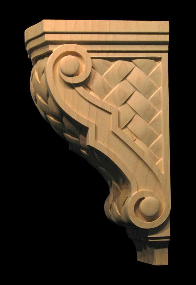 Corbel - Lattice Weave and Volutes