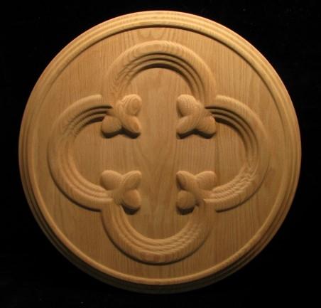 Medallion - Gothic Quatrefoil and Florets