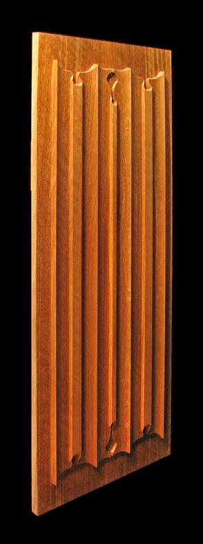 Panel - Linenfold (Folded Linen) Carving