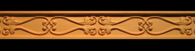 Frieze Moulding - Simple Volutes