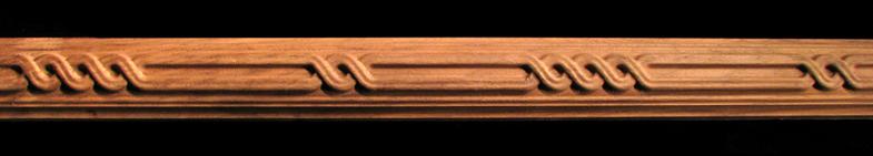 Detail Moulding - Triple Link Astragal