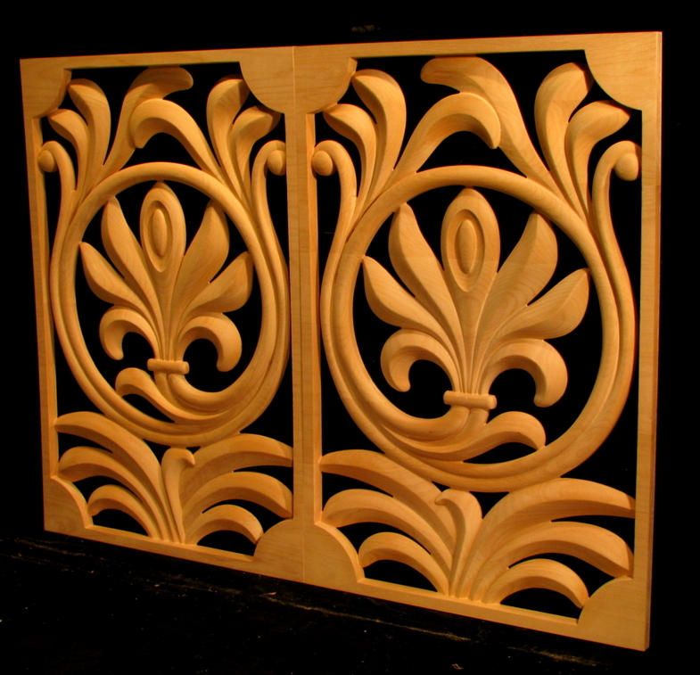 Contemporary Palmette Panels