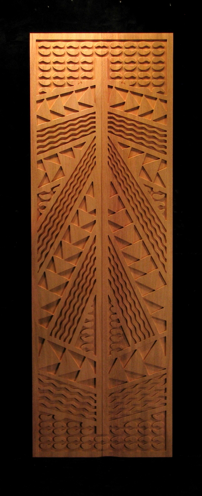 Kappa Panel Carved Panel Decor