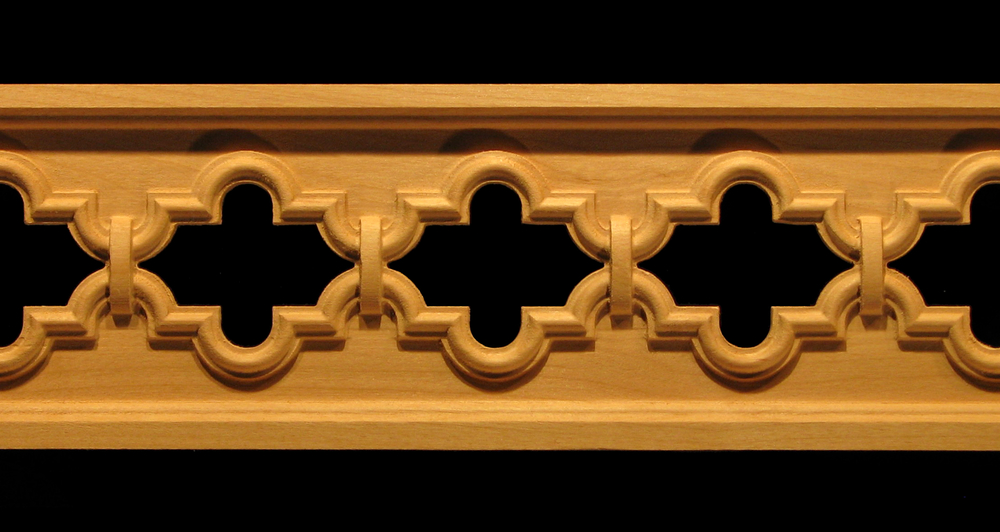 Frieze- Marakesh Pierced Decorative Carved Wood Molding