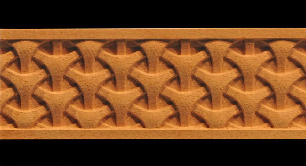 Decorative Frieze Moulding - Tri Weave