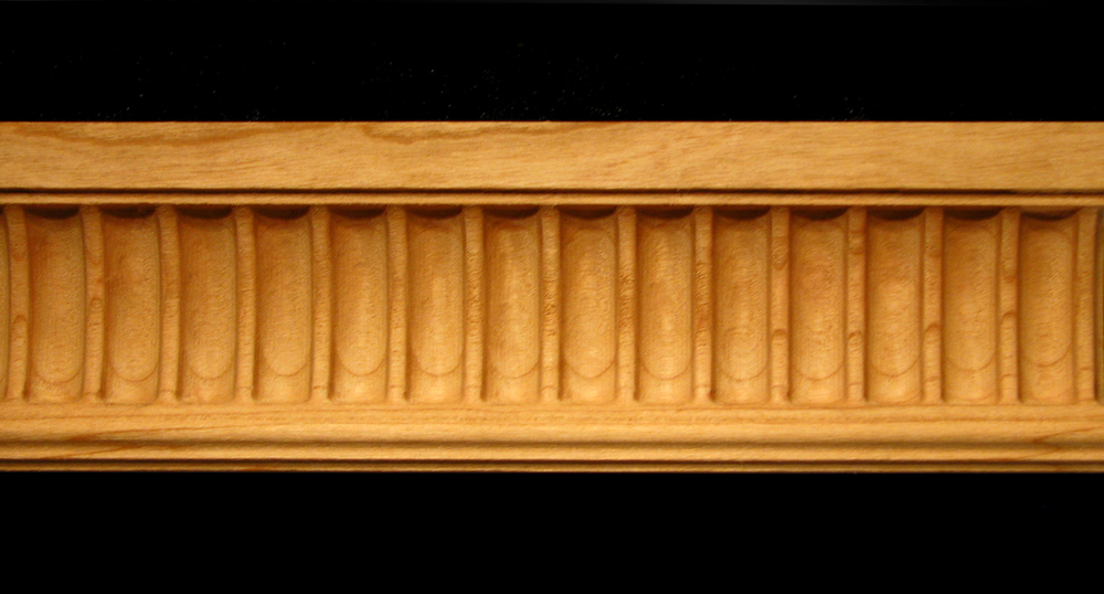 Moulding Fluted Carved Wood