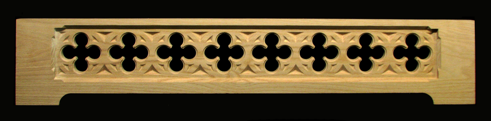 Range Hood Panel - Gothic Quatrefoil