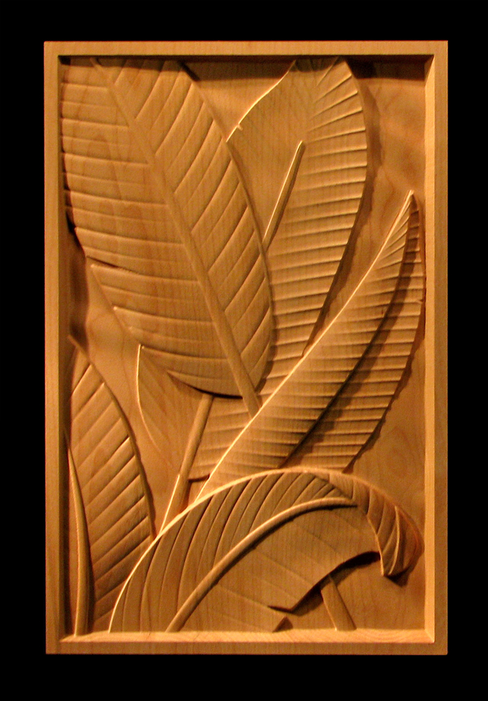 Panel - Leaves of Paradise