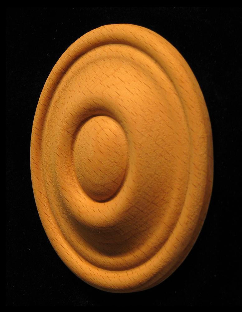 Rosette - Bullseye style #12 size 2.5