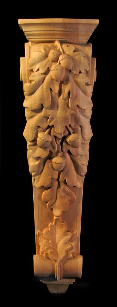 Corbel - Oak Leaves Cascade - 27T x 7.5W x 6.5D