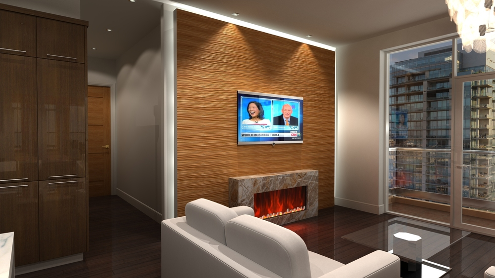 Carved Wall Panelling in Solid Wood - Contura TG