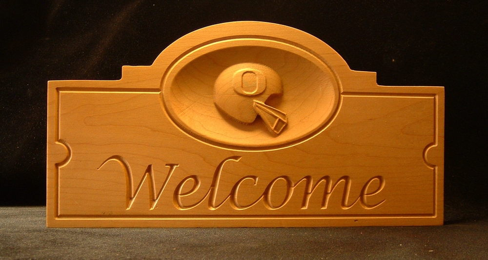 U of O Welcome Sign