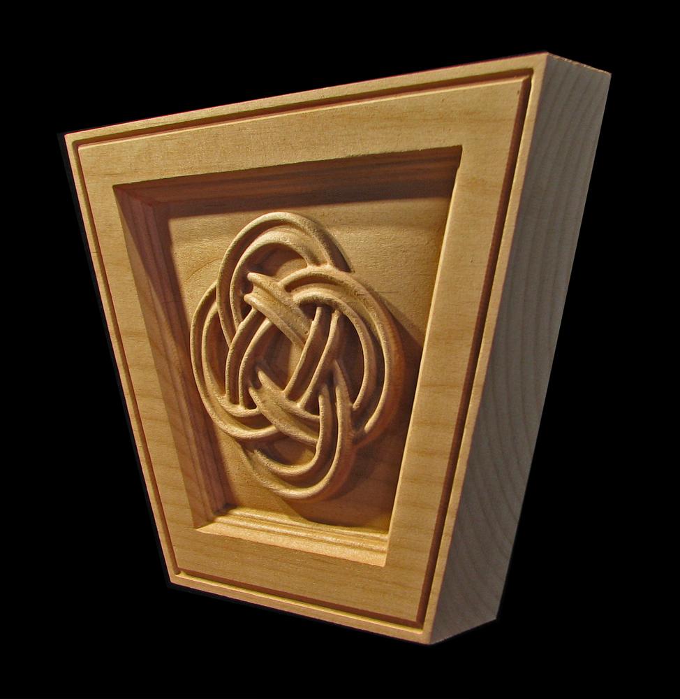 Keystone - Celtic Eternal Knot (flat top)