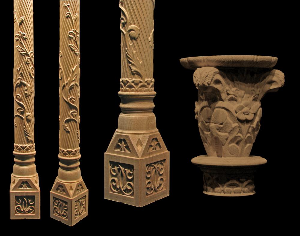 Whimsical Acanthus Column