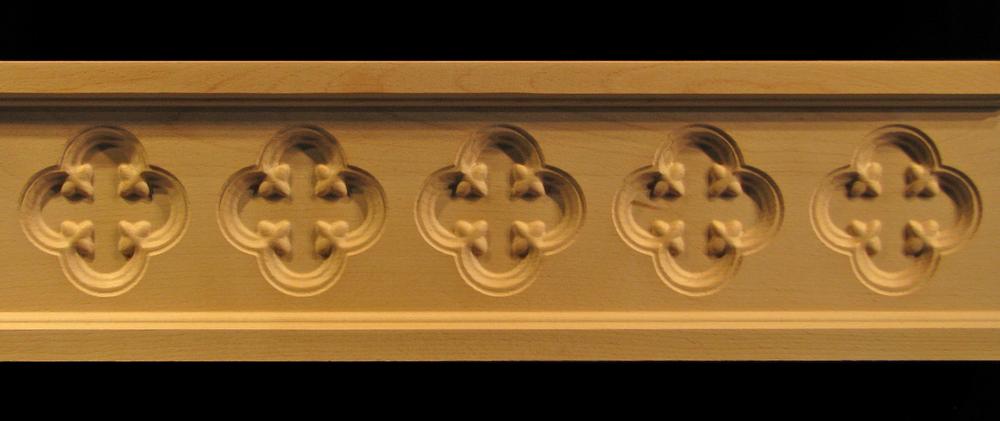 Frieze Moulding - Gothic Florets