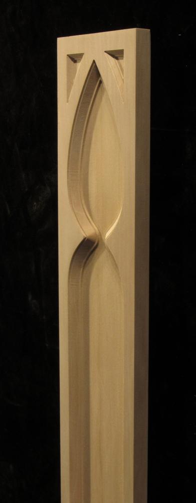 Pilaster -Gothic Arch