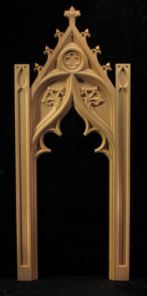 Gothic Spire Panel and Pilaster Set