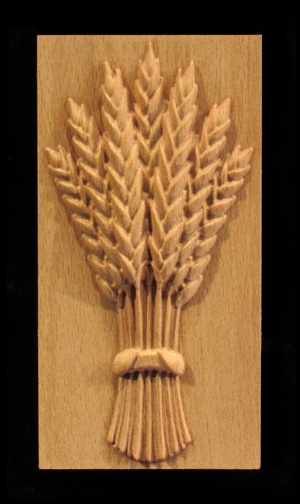 Plaque - Harvest Wheat
