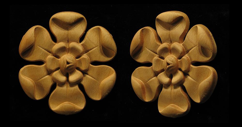 Classic 6 Petal Flower
