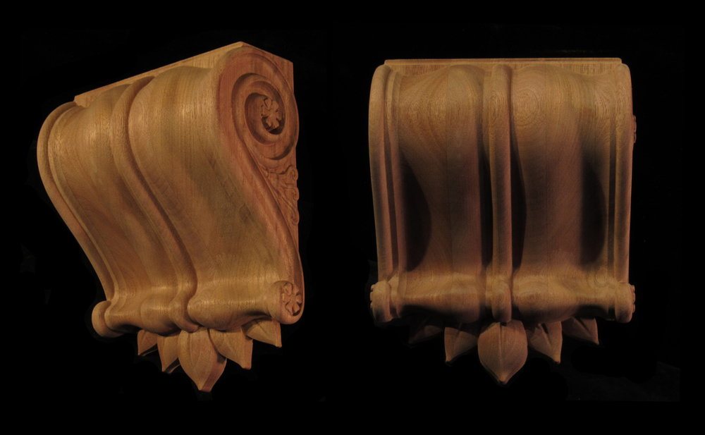 Leaf Crown Corbel