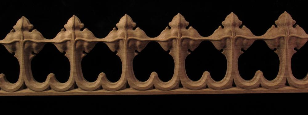 Moulding - Gothic Spire / Crocket #2