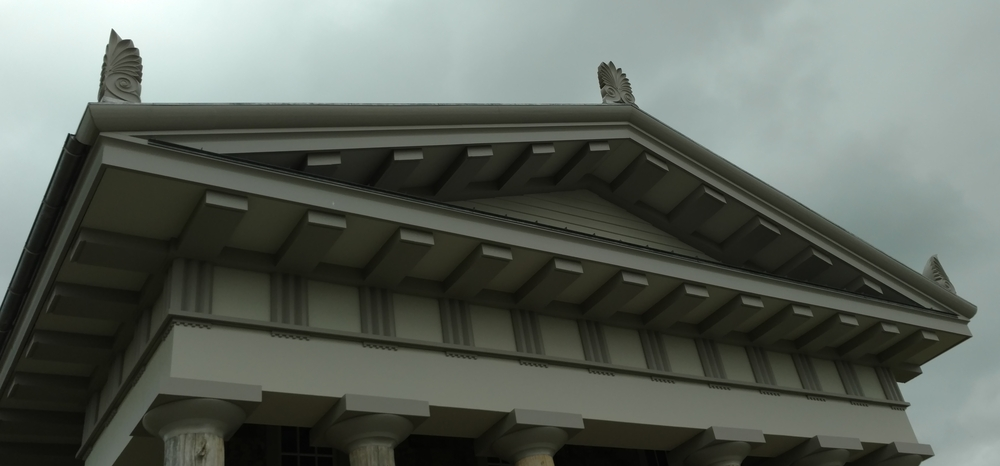 Locuston Lodge - Greek Akroterion - Anthemion