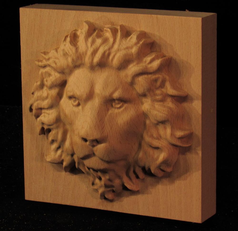 Plaque - Regal Lion