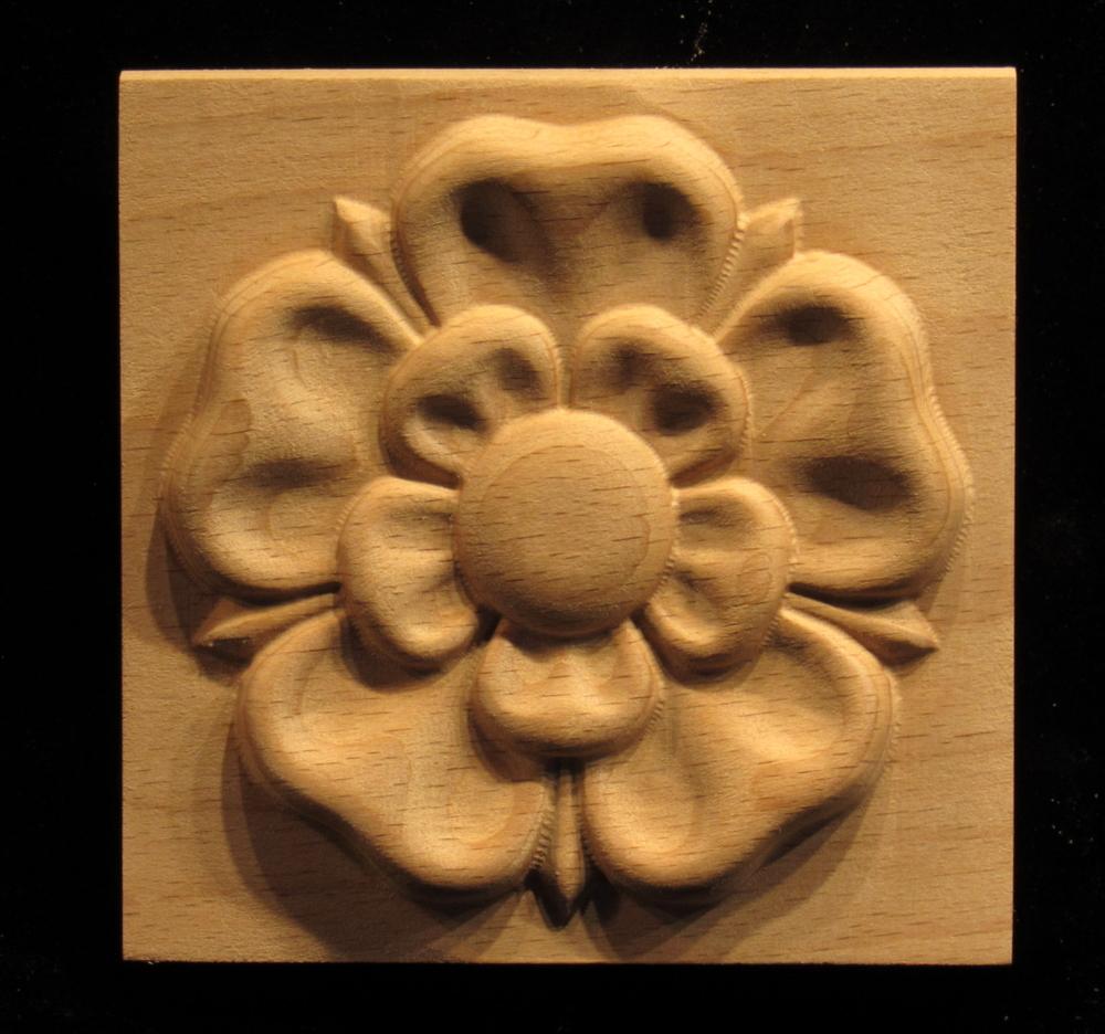 Plaque - Tudor Rose