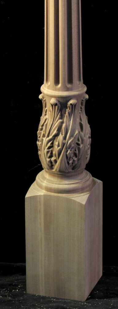 Baluster with Pin Top