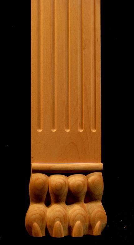 Column, Pilaster - Regal Lion Accents