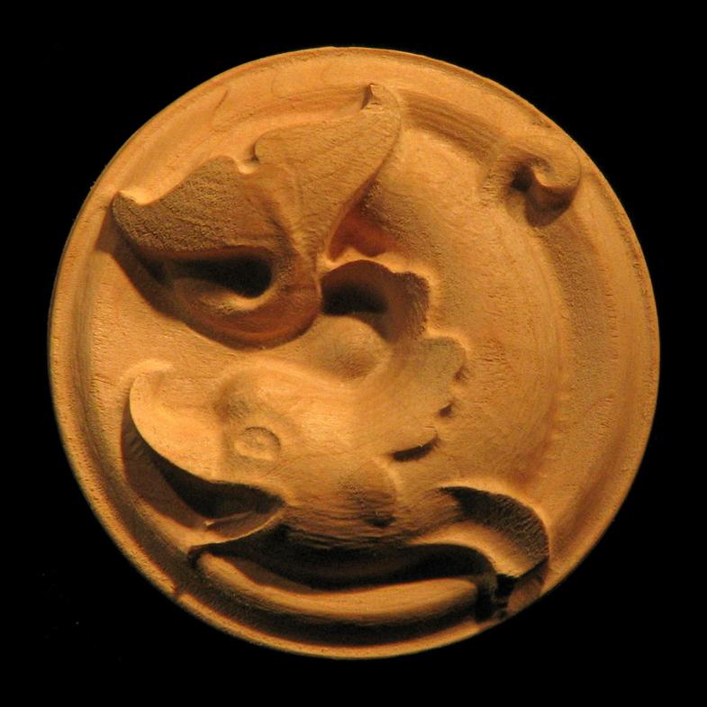 Rosette - Classic Dolphin
