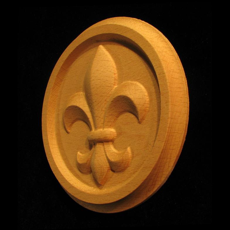 Medallion - Fleur de Lis #1