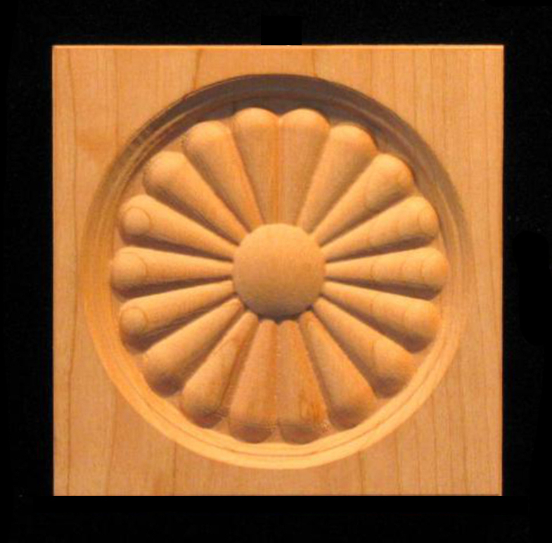 Corner Block - Sun Daisy