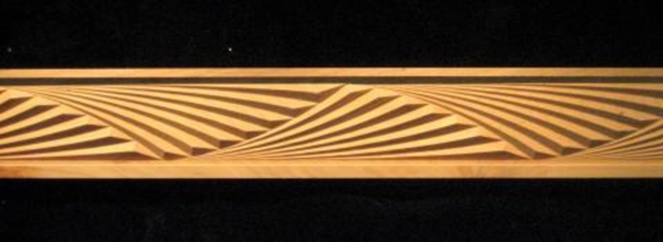 Frieze Deco Fans Decorative Carved Wood Molding