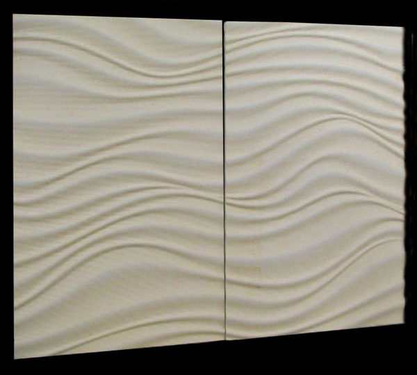 Image Carved Cecorative Panel - Water Flow