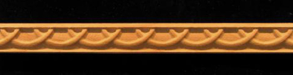 Image Detail Moulding - Half Rings