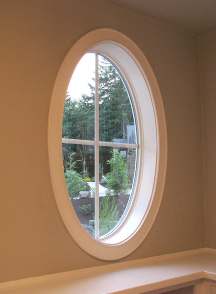 Oval Window Frame Window Amp Door Trim
