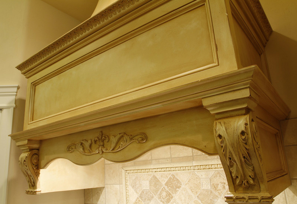 French Country Range Hood Bars Islands Ceilings