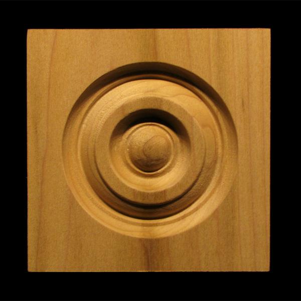 Image Corner Block - Classic Bullseye style #5 size 3