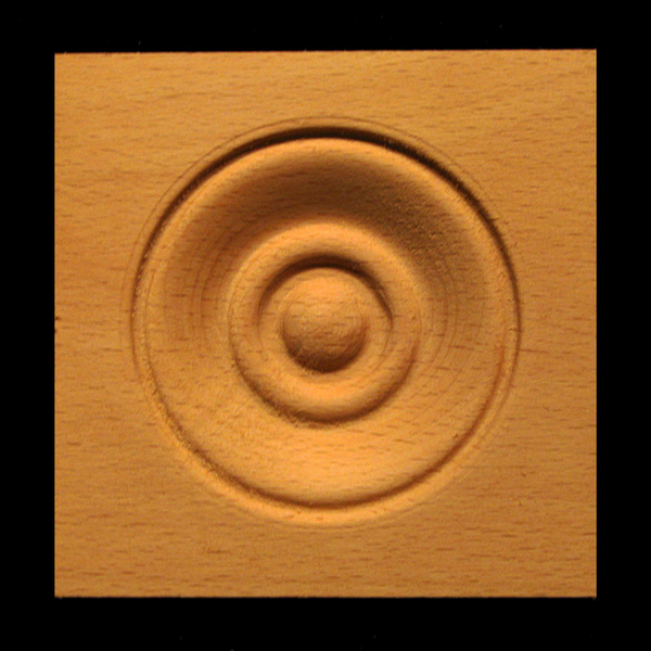 Image Corner Block - Classic Bullseye style #6 size 3