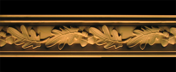 Image Crown Molding - Acorns and Oak Leaves
