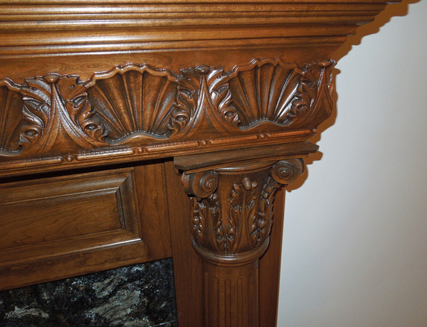 St Amour Fireplace Surround | Bars, Islands, Ceilings, Mantels & Range Hoods