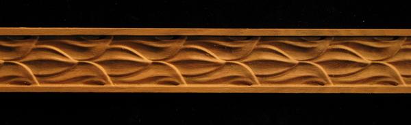 Frieze - Olive Leaves Decorative Carved Wood Molding
